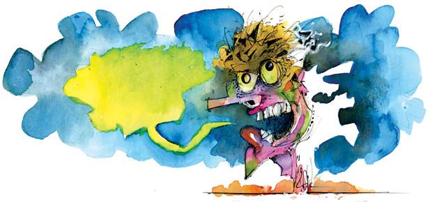 Ilustração de 18 de agosto coluna Cotardo