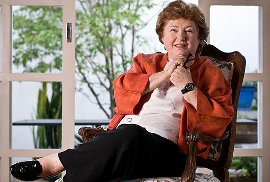 Retrato da antropologa e professora na Univesidade de Chicago Manuela Carneiro da Cunha