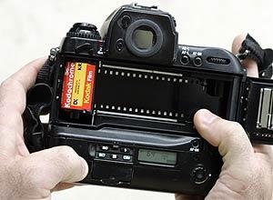 Lançado em 1935 pela Kodak, o Kodachrome foi o primeiro filme colorido da história
