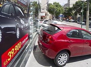 Veículo da chinesa JAC Motors em concessionária no Rio