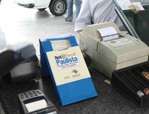 Nota Fiscal Paulista dá incentivo para clientes que solicitarem