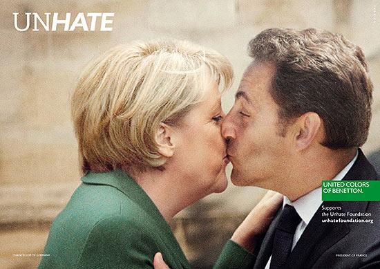 Chanceler alemã, Angela Merkel, e presidente francês, Nicolas Sarkozy