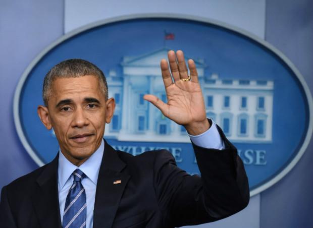 O presidente americano, Barack Obama, na última entrevista coletiva em 2016, na Casa Branca