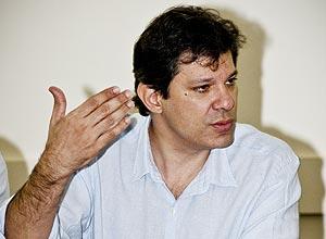 Pré-candidato petista à Prefeitura de SP, Fernando Haddad