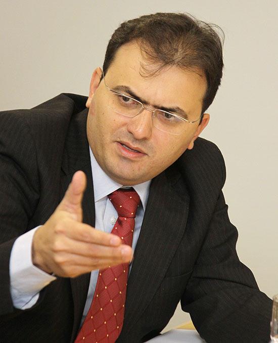 O candidato à presidência da OAB (Ordem dos Advogados do Brasil) nacional, Marcus Vinicius Furtado Coêlho