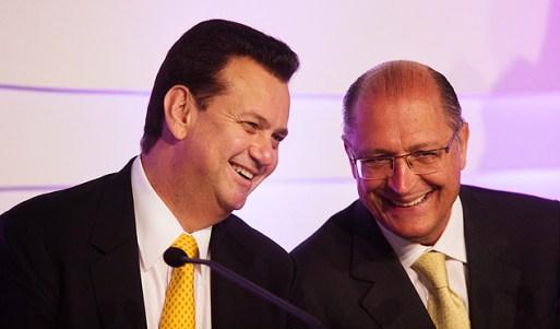 Resultado de imagem para alckmin e kassab