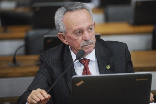 O senador Benedito Lira (PP-AL), indiciado pela Polícia Federal no âmbito da Operação Lava Jato