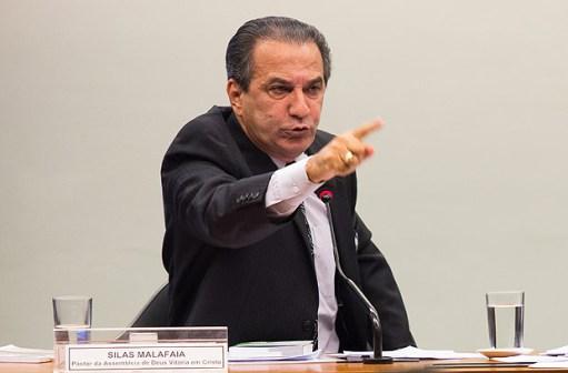 BRASILIA, DF, BRASIL, 25-06-2015, 15h00: O pastor Silas Malafaia, durante audiencia da Comissao Especial que analisa o Estatuto da Familia. (Foto: Ed Ferreira/Folhapress, PODER)