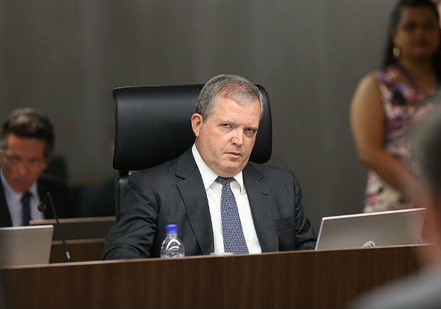 O ministro Walton Alencar Rodrigues em sessão do TCU