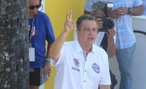 O governador da Bahia, Rui Costa, do PT