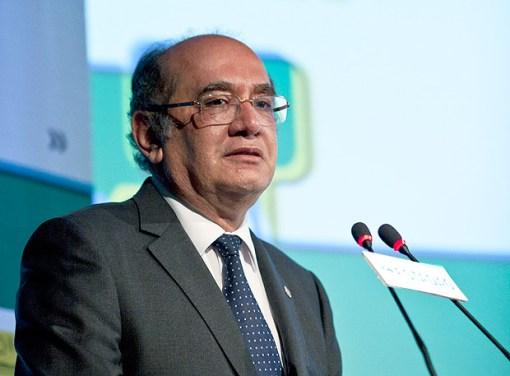 Ministro Gilmar Mendes, durante evento em São Paulo