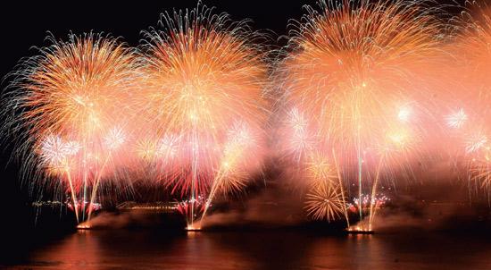Ano Novo 2012 no Rio de Janeiro, Copacabana