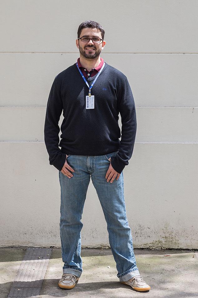 Luís Fernando, engenheiro ambiental que pesquisa incidência de metais pesados em hortas urbanas