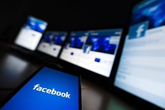 Tela inicial do Facebook