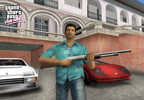 """Imagem de """"GTA: Vice City"""", que será lançado para tablets e celulares"""