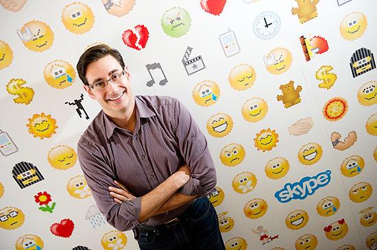 Piero Sierra, diretor do Skype, já trabalhou na Microsoft com o Windows Live Messenger