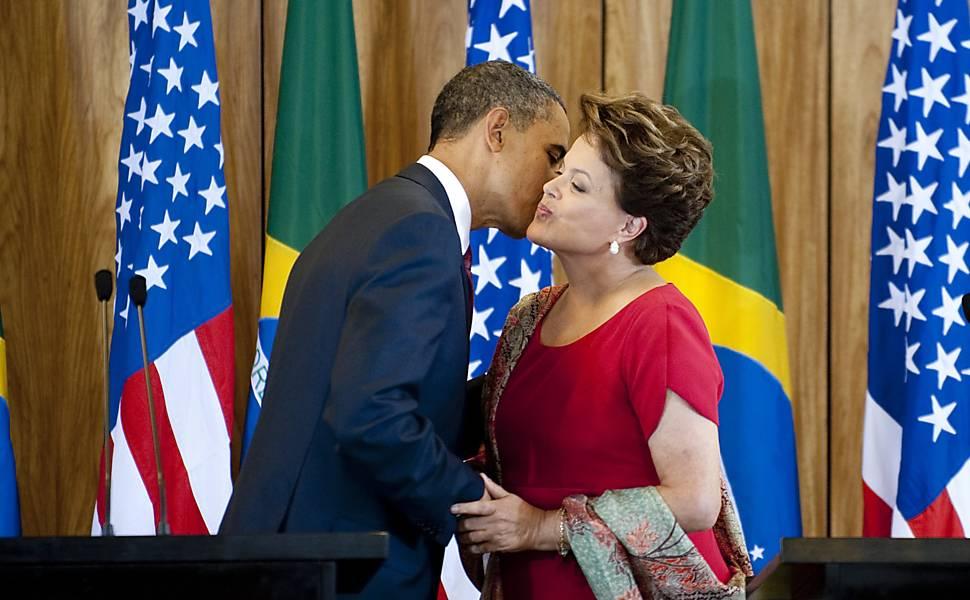 Obama e Dilma em Brasília