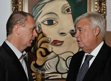 Mano Menezes e Ricardo Teixeira