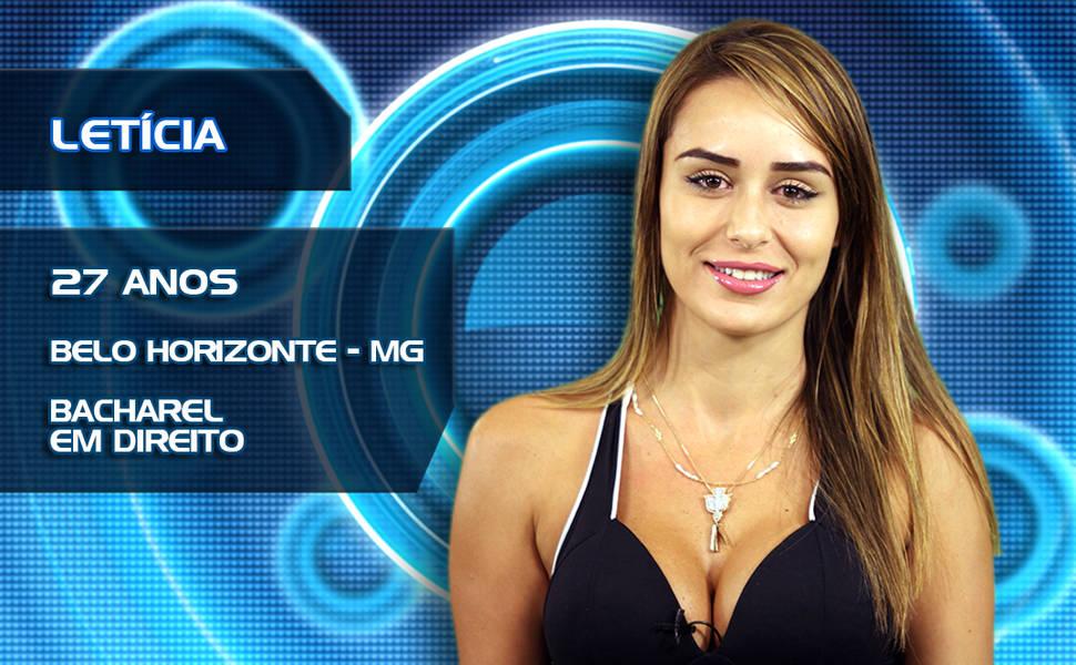 Resultado de imagem para Letícia Santiago ex bbb