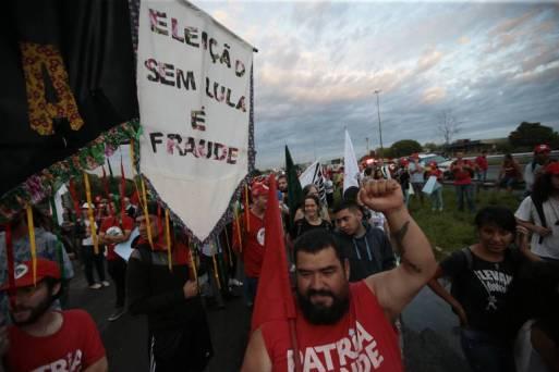Marcha do MST em Porto Alegre