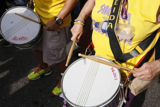 Simpatia É Quase Amor durante o Carnaval de 2016; neste ano, bloco terá marchinha com crítica ao prefeito do Rio, Marcelo Crivella