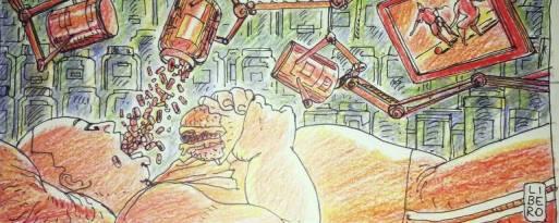 Ilustração Líbero para coluna Drauzio Varella