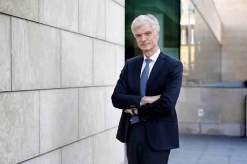 O diretor da OCDE durante evento, em 2016, em Paris
