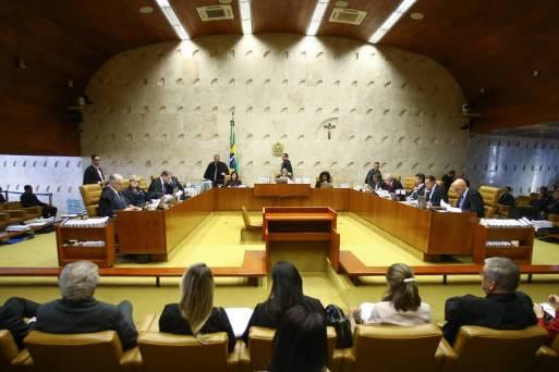0Sessão plenária do STF, sob a presidência da ministra Carmen Lucia