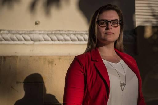 Marília Arraes (PT), vereadora da cidade do Recife