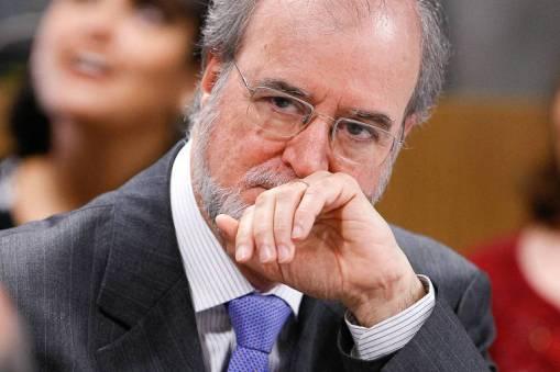 Eduardo Azeredo durante sessão no Senado, em 2010