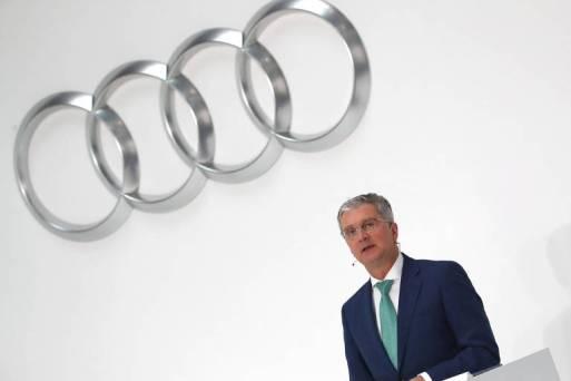 Presidente da Audi, Rupert Stadler, fala durante conferência em Ingolstadt, na Alemanha
