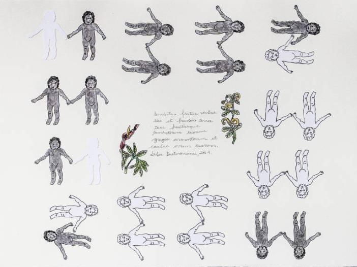 Obra de Janaína Barros que está exposta no Instituto Tomie Ohtake