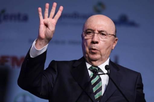 Pré-candidato à Presidência da Republica pelo MDB, Henrique Meirelles