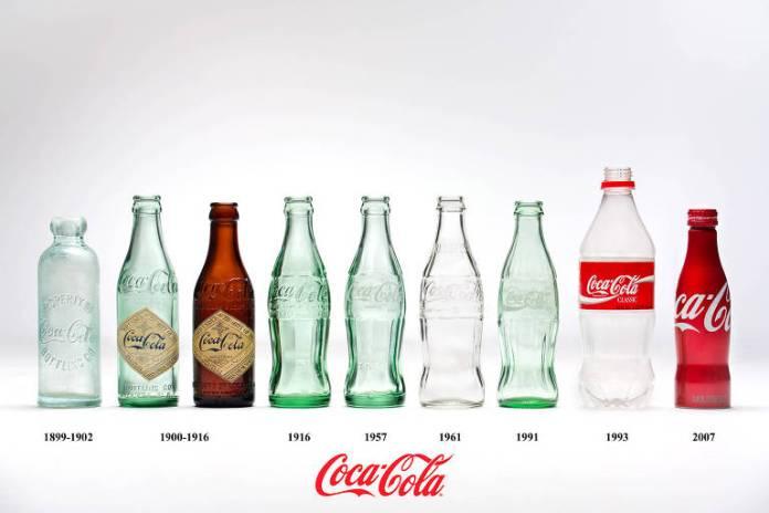 Em junho de 1990 foi lançada a lata de alumínio 100% reciclável para toda a linha de produtos. Pouco depois, chegou ao mercado brasileiro a garrafa plástica Superfamília retornável de 1,5L. A histórica garrafa contour (aquela com as curvas acentuadas) de 237ml foi relançada no país em 2001.
