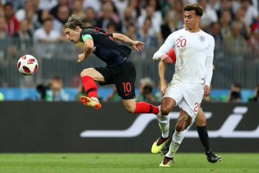 Inglaterra x Croácia