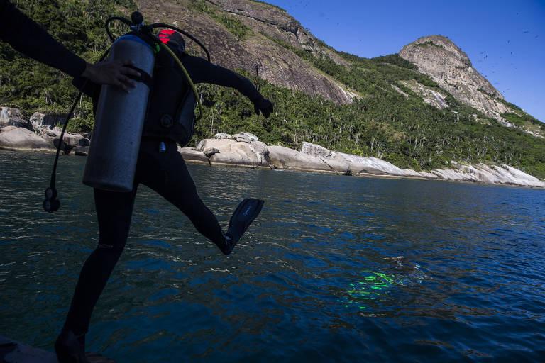 Marinha abre ao público turismo náutico no arquipélago de Alcatrazes, em São Sebastião (SP)