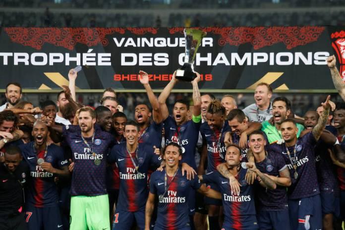 Na abertura da temporada 2018/19, Neymar conquistou o título da Supercopa da França com o Paris Saint-Germain, na goleada de 4 a 0 sobre o Monaco