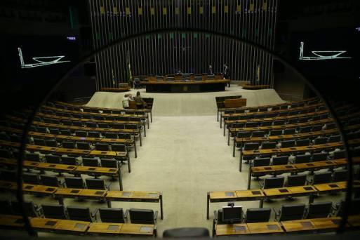 Plenário da Câmara, que terá uma guinada conservadora na próxima legislatura