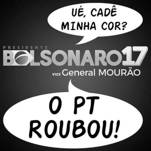 Meme de eleitores do Bolsonaro ironiza petistas