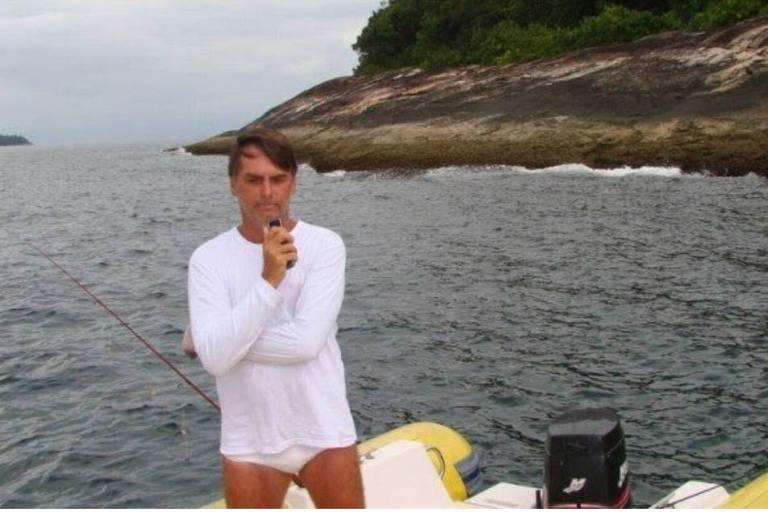 15396168805bc4b070e7aa6 1539616880 3x2 md - Bolsonaro ignora flagra e diz que não estava em autuação por crime ambiental