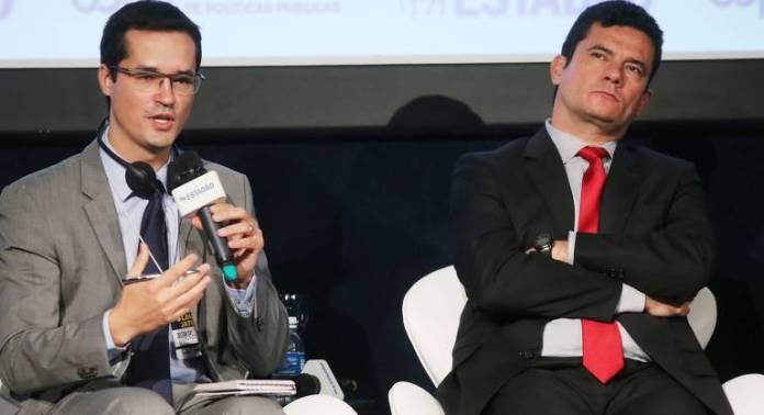 Ao lado do então juiz Sergio Moro, Dallagnol participa de evento que debateu  o legado da Operação Mãos Limpas (Itália) e o futuro da Lava Jato