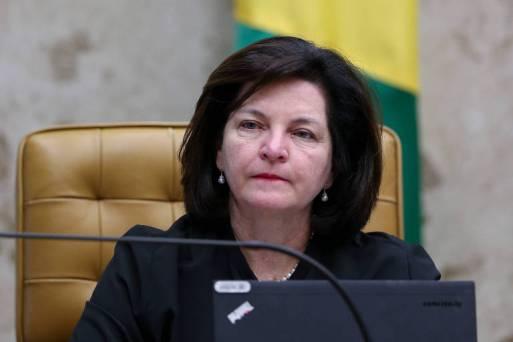A procuradora-geral da República, Raquel Dodge, durante sessão do STF em março