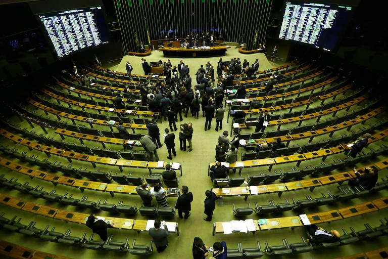 Suspensa na noite de quarta (22) após confusão em plenário, votação da Medida Provisória 870, que define a organização administrativa e dos ministérios do governo Bolsonaro, foi finalizada na quinta (23). Texto seguiu para o Senado