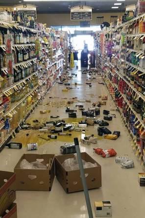 Resultado de imagem para Sul da Califórnia é atingido por maior terremoto na região em duas décadas