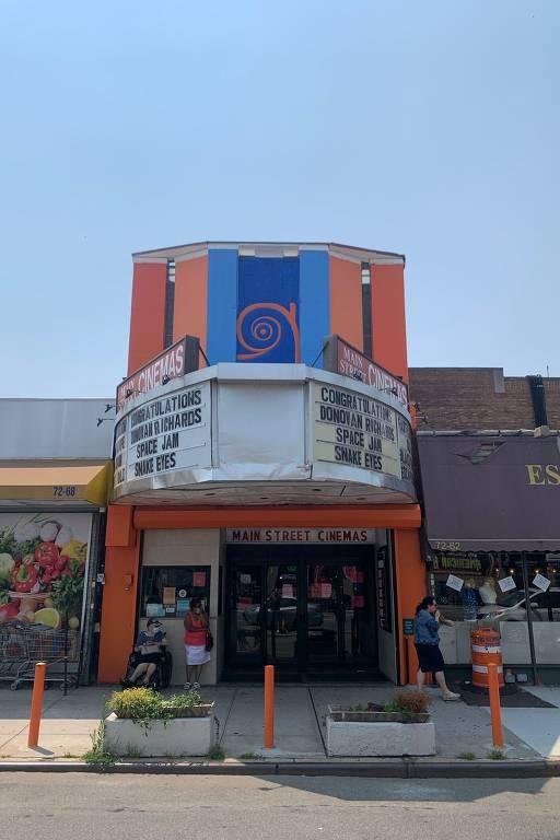 Cinema onde é o verdadeiro endereço da International Covid Solutions Corp., segundo o advogado Damian Bachu