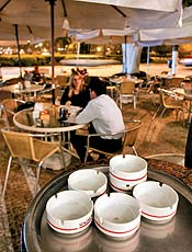 Senzala Bar e Grill (foto), que terá jardim isolado
