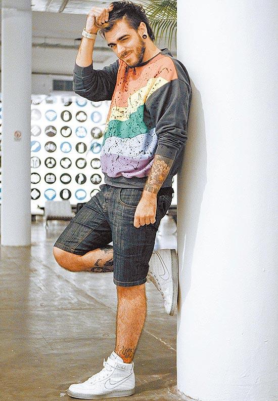 O blogueiro Daniel Carvalho, que criou a personagem Katylene