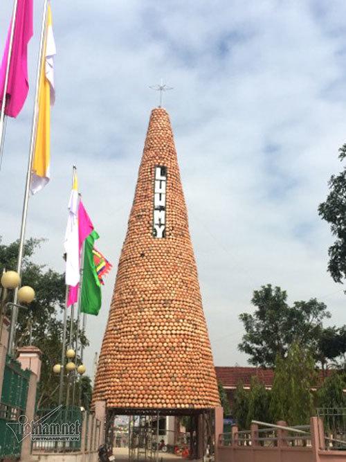 nồi đất,Noel 2017,Nghệ An,cây thông Noel