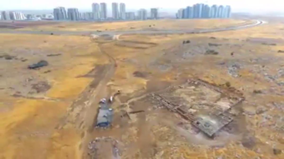 Hallan en Israel un enorme depósito subterráneo de agua de 2.700 años de antigüedad