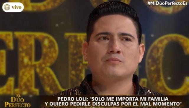 Pedro Loli, otro caso de infidelidad.El programa